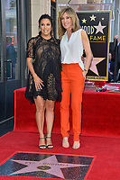 Eva Longoria &amp; Felicity Huffman at the Hollywood Walk of Fame Star Ceremony honoring actress Eva Longoria, Los Angeles, USA 16 April 2018<br /> Picture: Paul Smith/Featureflash/SilverHub 0208 004 5359 sales@silverhubmedia.com