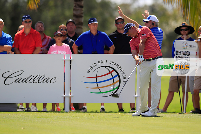 Jason Dufner (USA) during the 2nd round at the WGC Cadillac Championship, Blue Monster, Trump National Doral, Doral, Florida, USA<br /> Picture: Fran Caffrey / Golffile
