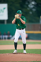 Beloit Snappers starting pitcher Wyatt Marks (31) gets ready to deliver a pitch during a game against the Dayton Dragons on July 22, 2018 at Pohlman Field in Beloit, Wisconsin.  Dayton defeated Beloit 2-1.  (Mike Janes/Four Seam Images)