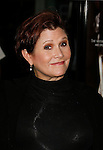 """HOLLYWOOD, CA. - September 03: Carrie Fisher arrives at the Los Angeles premiere of """"Sorority Row"""" at the ArcLight Hollywood theater on September 3, 2009 in Hollywood, California."""