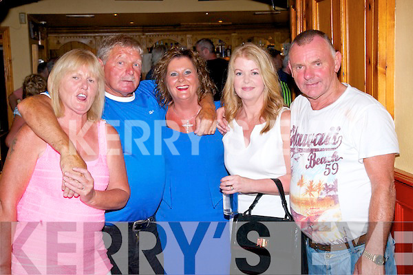Attending Casements Av., reunion last Saturday at Stokers were l-r: Brigitte Dowling, John O'Shea, Nuala Dowling, Breda Sheehan and Paddy Moriarty.