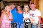 Attending Casements Av., reunion last Saturday at Stokers were l-r: Brigitte Dowling, John O'Shea, Nuala Dowling, Breda Sheehan and Paddy Moriarty.