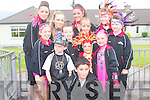 DANCERS: Joanne Barry Instep Dancers who took part in the Castlegregory Festival Parade on Sunday evening. Front l-r: Coady Barry and Jonathan Culloty. 2nd row l-r: Laura Reidy, Carly Holden, Theresa Kelly and Donna Kelly. Back l-r: Siobhan Dennehy, Rachel Greer, Clodagh O'Sullivan, Laura Flaherty, Naomi O'Brien and Tisha O'Brien..