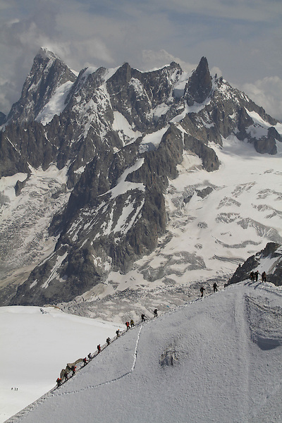 French Alps, Chamonix, France.