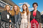 Ladies Day Listowel Races : Pictured at Ladies Day in Listowel ofn Friday last were Rebecca Hodalovia, Pia Bischoff, Stephanie Kokemor &  Olena Stuker who are exchange students living in Ballybuniom.