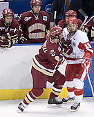 Anthony Aiello, Brian O'Hanley, Peter Harrold - Brett Motherwell, Ryan MacMurchy - The University of Wisconsin Badgers defeated the Boston College Eagles 2-1 on Saturday, April 8, 2006, at the Bradley Center in Milwaukee, Wisconsin in the 2006 Frozen Four Final to take the national Title.