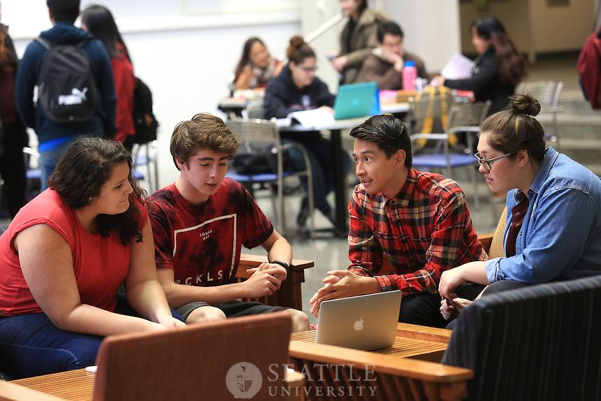 April 13th 2016 - Seattle University Costco scholars.
