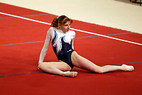 April 30, 2004; Amsterdam, Netherlands; ALINA KOZICH of Ukraine performs floor exercise at 2004 European Championships Artistic Gymnastics.<br /> Mandatory Credit: Tom Theobald/ ZUMA Press.<br /> (&copy;) Copyright 2004 Tom Theobald