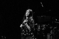 Hindi Zahra Live in Rome at Auditorium Parco della Musica,  Rome, Italy on 28 October 2015. Photo by Valeria  Magri.