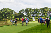 Jon Rahm (ESP) heads down 18 during Rd4 of the 2019 BMW Championship, Medinah Golf Club, Chicago, Illinois, USA. 8/18/2019.<br /> Picture Ken Murray / Golffile.ie<br /> <br /> All photo usage must carry mandatory copyright credit (© Golffile | Ken Murray)