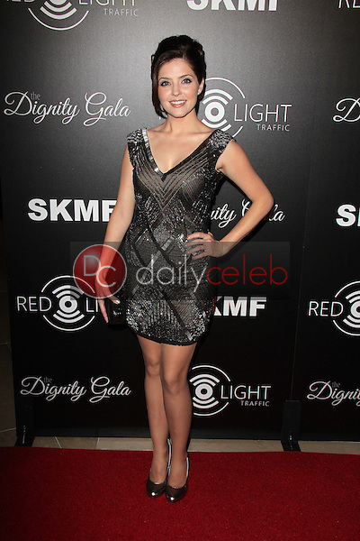 Jen Lilley<br /> Dignity Gala and Launch of Redlight Traffic App, Beverly Hilton Hotel, Beverly Hills, CA 10-18-13<br /> David Edwards/DailyCeleb.Com 818-249-4998