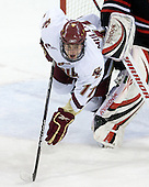Pat Mullane (BC - 11) - The Boston College Eagles defeated the Northeastern University Huskies 5-1 on Saturday, November 7, 2009, at Conte Forum in Chestnut Hill, Massachusetts.