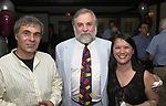 Viorel Florescu, Tony Marro and Kim Chapin, seen attending the retirement party for John Cornell on October 10, 2000. Photo by Jim Peppler. Copyright/Jim Peppler-2000