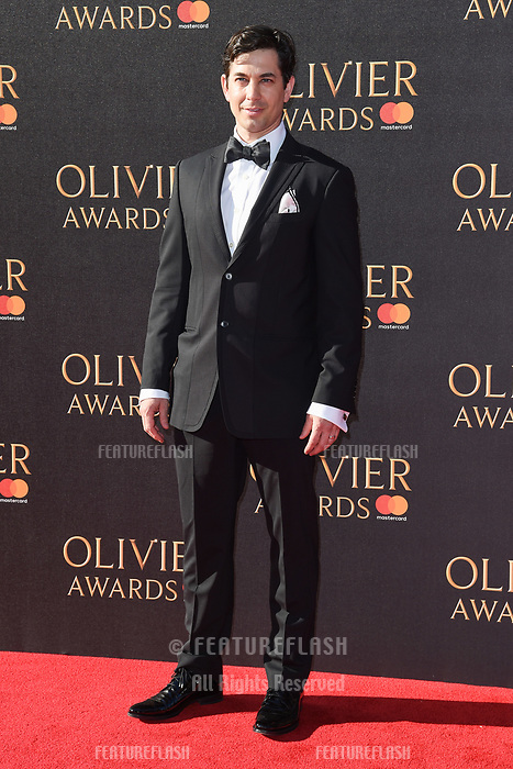 Adam Garcia at The Olivier Awards 2017 at the Royal Albert Hall, London, UK. <br /> 09 April  2017<br /> Picture: Steve Vas/Featureflash/SilverHub 0208 004 5359 sales@silverhubmedia.com