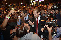 Roma 17 Settembre 2013<br /> Piazza Cesare De Cupis<br /> Il Sindaco di Roma Ignazio Marino visita il quartiereTor Sapienza con il Presidente del Municipio V Palmieri