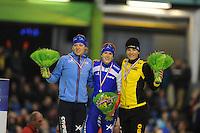 SCHAATSEN: HEERENVEEN: IJsstadion Thialf, 27-12-2014, NK Allround, Yvonne Nauta, Ireen Wüst, Diane Valkenburg, ©foto Martin de Jong
