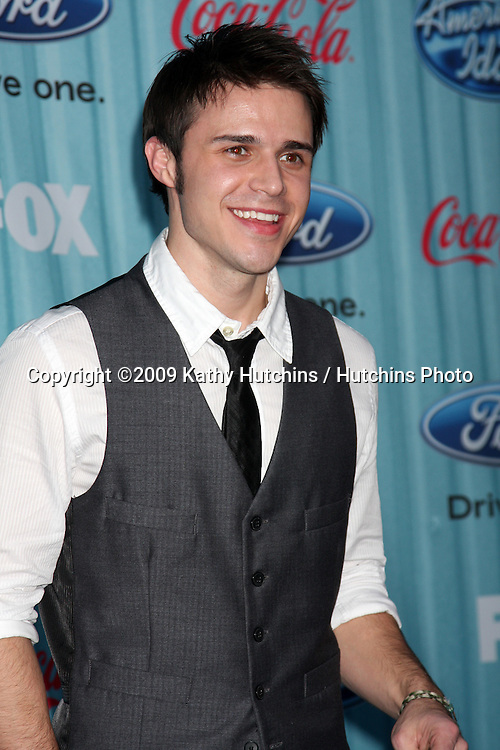 Kris Allen   arriving at the American idol Top 13 Party at AREA in Los Angeles, CA  on.March 5, 2009.©2009 Kathy Hutchins / Hutchins Photo...                .