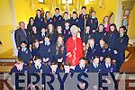 Pupils from Ardfert Central NS who were confirmed on Tuesday in the Sacred Heart church, Kilmoyley were Front row: Michael Kirby, Oisín Horgan, Nathan O'Driscoll, Conn Marley, Cian McDonagh, Ali Cavanagh, Abby Duggan<br />2nd Row: Aaron Malik,&nbsp;Joy Murphy, Mairéad Kearney, Kate O'Shea, Bishop Ray Browne, Shannon Ward, Caitlyn Brick<br />3rd Row: Fr. Tadhg Fitzgerald, Claire Moriarty, Grainne Raggett, Ciara McCarthy, Orla Doyle, Darragh Courtney, Ellie Fox, Ciara Houlihan, Sadbh Stack, Sinead O'Mahony<br />4th Row: Claudia Murphy, Erin Griffin, Clodagh Kirby, Joseph Flaherty, Rory Dowling,&nbsp;Denis Horgan, John McCrohan, Jonathan Trant, Teacher Marie O'Connell
