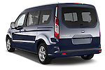 Car pictures of rear three quarter view of a 2015 Ford Grand Tourneo Connect Titanium 5 Door Minimpv Angular Rear