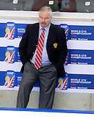 Vladimir Plyushchev (Russia - Head Coach) - Russia defeated Finland 4-0 at the Urban Plains Center in Fargo, North Dakota, on Friday, April 17, 2009, in their semi-final match during the 2009 World Under 18 Championship.