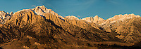 Mount Whitney and the Eastern Sierra Mountains