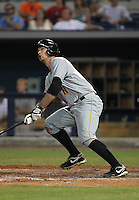 May 8, 2010 Infielder Jeremy Farrell of the Bradenton Marauders, Florida State League Class-A affiliate of the Pittsburgh Pirates, during a game at Charlotte Sports Park in Port Charlotte FL. Photo by: Mark LoMoglio/Four Seam Images