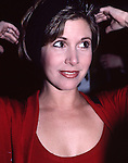 Carrie Fisher photographed on September 1, 1988 in New York City.