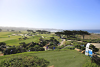 View from the 11th tee at Monterey Peninsula CC during Saturday's Round 3 of the 2018 AT&amp;T Pebble Beach Pro-Am, held over 3 courses Pebble Beach, Spyglass Hill and Monterey, California, USA. 10th February 2018.<br /> Picture: Eoin Clarke | Golffile<br /> <br /> <br /> All photos usage must carry mandatory copyright credit (&copy; Golffile | Eoin Clarke)