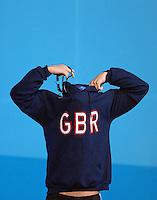 PICTURE BY VAUGHN RIDLEY/SWPIX.COM - Swimming - 12th FINA World Championships - Rod Laver Arena, Melbourne, Australia -  27/03/07...Copyright - Simon Wilkinson - 07811 267706...Great Britain's Liam Tancock wins the Bronze Medal in the Men's 100m Backstroke Final.