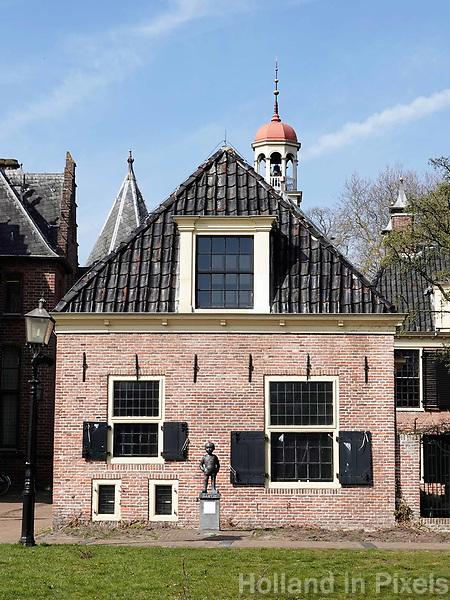 Nederland - Assen-  April  2019 .  Beeld van Bartje bij het Drents Archief. Foto Berlinda van Dam / Hollandse Hoogte