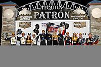 2017 IMSA WeatherTech SportsCar Championship<br /> Mobil 1 Twelve Hours of Sebring<br /> Sebring International Raceway, Sebring, FL USA<br /> Saturday 18 March 2017<br /> 5, Cadillac DPi, P, Joao Barbosa, Christian Fittipaldi, Filipe Albuquerque, 10, Cadillac DPi, P, Ricky Taylor, Jordan Taylor, Alexander Lynn, 31, Cadillac DPi, P, Dane Cameron, Eric Curran, Michael Conway, podium<br /> World Copyright: Michael L. Levitt/LAT Images<br /> ref: Digital Image levitt_seb_0317-31931