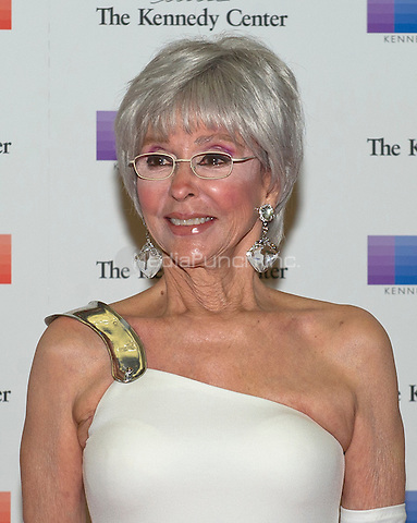 Singer Rita Moreno arrives for the formal Artist's Dinner honoring the recipients of the 38th Annual Kennedy Center Honors hosted by United States Secretary of State John F. Kerry at the U.S. Department of State in Washington, D.C. on Saturday, December 5, 2015. The 2015 honorees are: singer-songwriter Carole King, filmmaker George Lucas, actress and singer Rita Moreno, conductor Seiji Ozawa, and actress and Broadway star Cicely Tyson.<br /> Credit: Ron Sachs / Pool via CNP/MediaPunch
