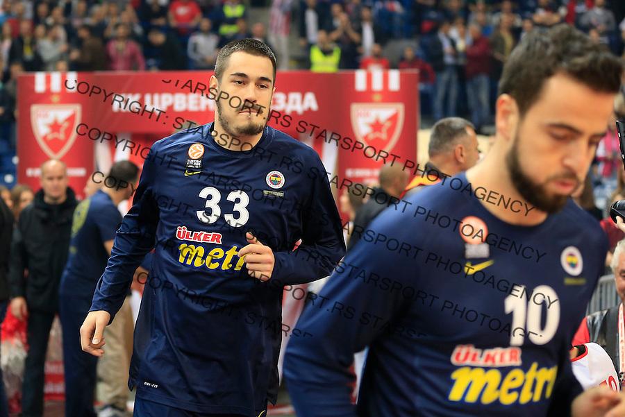 Kosarka Euroleague season 2015-2016<br /> Euroleague <br /> Crvena Zvezda v Fenebahce Istanbul<br /> Nikola Kalinic (L)<br /> Beograd, 06.11.2015.<br /> foto: Srdjan Stevanovic/Starsportphoto &copy;