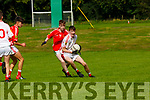 Ruairi Doyle East Kerry tracks Cathal Ryan Eoghan Ruadh during the u16 County Championship semi final in Killarney on Sunday