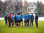Rangers training in the snow
