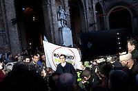 Parma:  Federico Pizzarotti del movimento 5 stelle eletto sindaco di Parma dopo il ballottaggio con il candidato del PD Vincenzo Bernazzoli