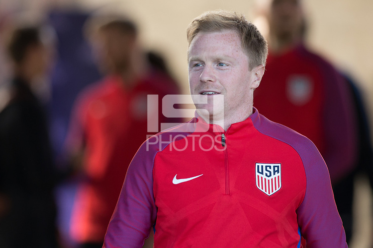 San Jose, CA - March 23, 2017: The USMNT train in preparation for their 2018 FIFA World Cup Qualifying Hexagonal match against Honduras at Avaya Stadium.