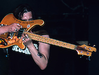 Motorhead circa 1988 perform at The Ritz in New York City circa 1988