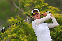 Madelene Sagstrom (SWE) in action on the 3rd during Round 2 of the HSBC Womens Champions 2018 at Sentosa Golf Club on the Friday 2nd March 2018.<br /> Picture:  Thos Caffrey / www.golffile.ie<br /> <br /> All photo usage must carry mandatory copyright credit (&copy; Golffile | Thos Caffrey)