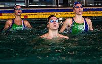 Mariangela Perrupato (sx); Giorgio Minisini (centro); Manila Flamini (dx) <br /> Duo misto sincro Italia<br /> Nuoto Sincronizzato - Synchronised Swimming<br /> Roma Centro Federale Pietralata 10 dicembre 2014<br /> Photo Rita Pannunzi/Deepbluemedia
