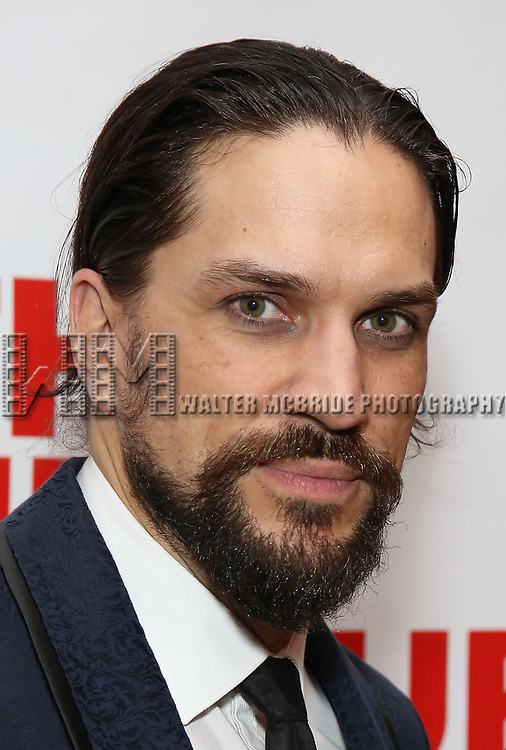 """Will Swenson attends the Off-Broadway Opening Night Premiere of  """"Jerry Springer-The Opera"""" on February 22, 2018 at the Roundabout Rehearsal Studios in New York City."""