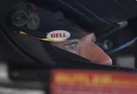 Mar 30, 2007; Martinsville, VA, USA; Nascar Nextel Cup Series driver Regan Smith (01) during practice for the Goody's Cool Orange 500 at Martinsville Speedway. Martinsville marks the second race for the new car of tomorrow. Mandatory Credit: Mark J. Rebilas