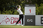 Golfer Yi-Ting Lai of Taiwan during the 2017 Hong Kong Ladies Open on June 9, 2017 in Hong Kong, China. Photo by Chris Wong / Power Sport Images