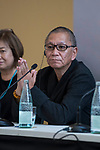 Japanese director Takashi Miike during press conference of 'Jojo's Bizarre Adventure' at Sitges Film Festival in Barcelona, Spain October 13, 2017. (ALTERPHOTOS/Borja B.Hojas)