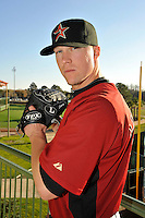 Feb 25, 2010; Kissimmee, FL, USA; The Houston Astros pitcher Matt Lindstrom (22) during photoday at Osceola County Stadium. Mandatory Credit: Tomasso De Rosa/ Four Seam Images
