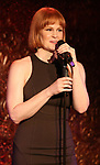 """Kate Baldwin during her press preview for """"How did I get this number?"""" on October 3, 2018 at Feinstein's/54 Below in New York City."""