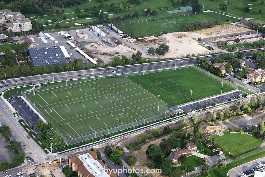 1309-22 3605<br /> <br /> 1309-22 BYU Campus Aerials<br /> <br /> Brigham Young University Campus, Provo, <br /> <br /> Practice Fields, Lacrosse Fields<br /> <br /> September 6, 2013<br /> <br /> Photo by Jaren Wilkey/BYU<br /> <br /> © BYU PHOTO 2013<br /> All Rights Reserved<br /> photo@byu.edu  (801)422-7322