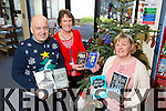 Staff at Kerry Library with some of the most popular books of 2014 from left: John O'Connell, Marita Corcoran, Noreen O'Keeffe