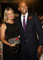 Chuka Umunna at the Pride Of Britain Awards held at Grosvenor House, Park Lane, London, UK on the 30th October 2017<br /> CAP/ROS<br /> &copy;ROS/Capital Pictures /MediaPunch ***NORTH AND SOUTH AMERICAS ONLY***