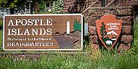 Apostle Islands National Seashore Headquarters Bayfield Wisconsin